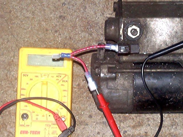 toyota chrysler mitsubishi nippon denso starter solenoid repair simple voltage test fixture