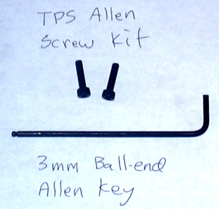 TPS Allen Head Screw Kit
