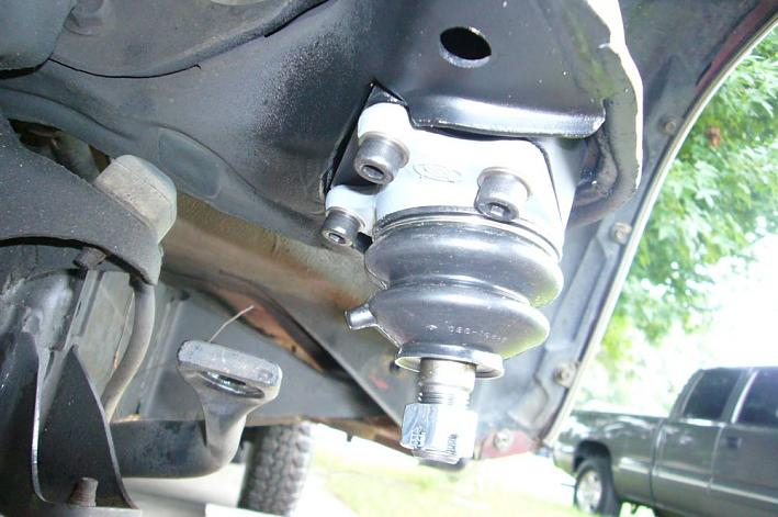 Toyota Ifs Ball Joint Spacer Installation
