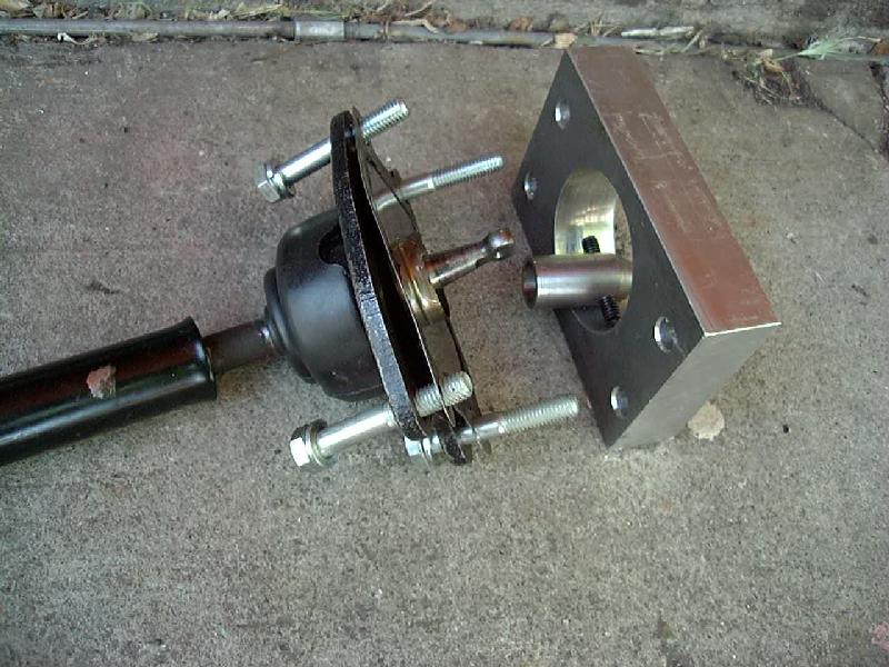 Toyota Forklift Shift Lever Switch : Short throw transfer case shifter