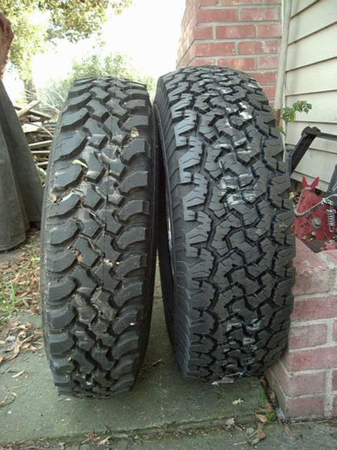 Largest Size Tires On 16x7 Wheels 4x4wire Trailtalk