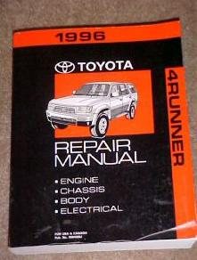 toyota factory service manual rh 4crawler com 1986 toyota 4runner factory service manual Toyota 4Runner Manual Online