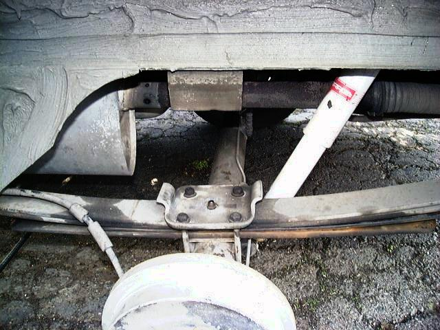 Vw Pickup Caddy Rear Suspension