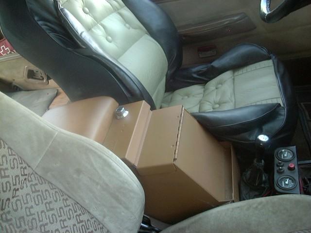 2nd gen toyota pickup center console