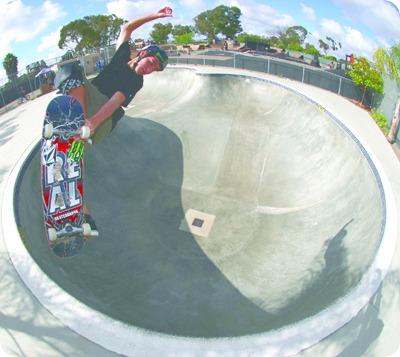 stunt skater