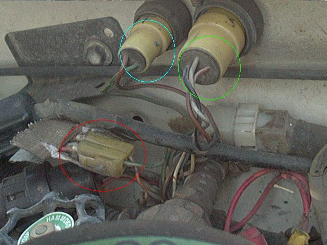 1989 toyota pickup v6 fuel pump relay location
