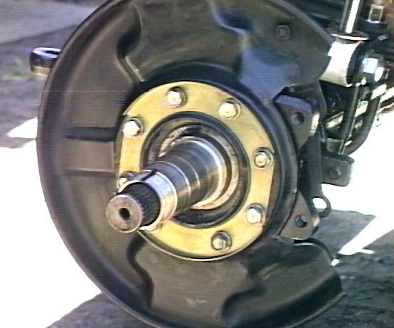 Toyota Front Axle Rebuild