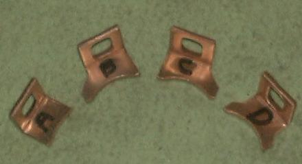 NipponDenso Starter Solenoid Contacts