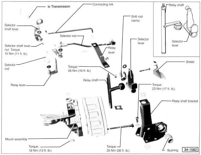 vw shifter diagram 1957 vw wiring diagram #11